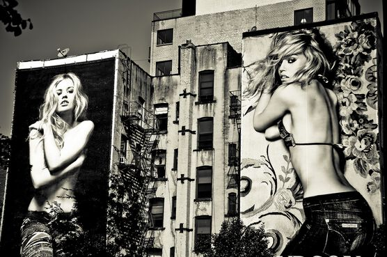 Photo Blondies Billboards - Guillaume Gaudet