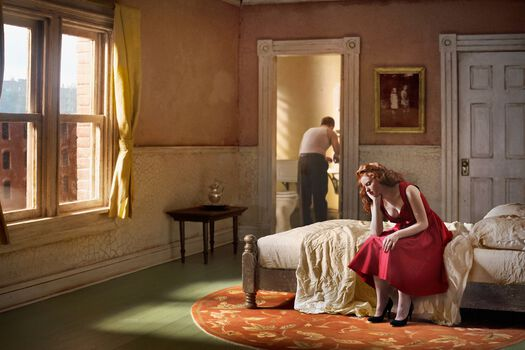 Photo Pink Bedroom Daydream - Richard Tuschman