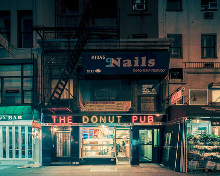Photo THE DONUT PUB NYC - Franck Bohbot Studio