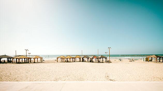 Photo TEL AVIV BEACH - Jörg Dickmann