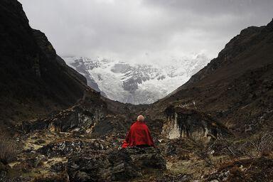 Le glacier du Jomolhari