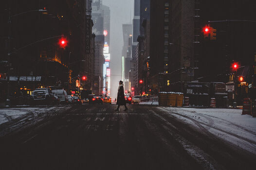 Photo NEW YORK WALK - Luc Kordas