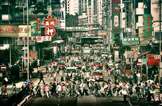 Photo Street Bustle - Nicolas Jacquet