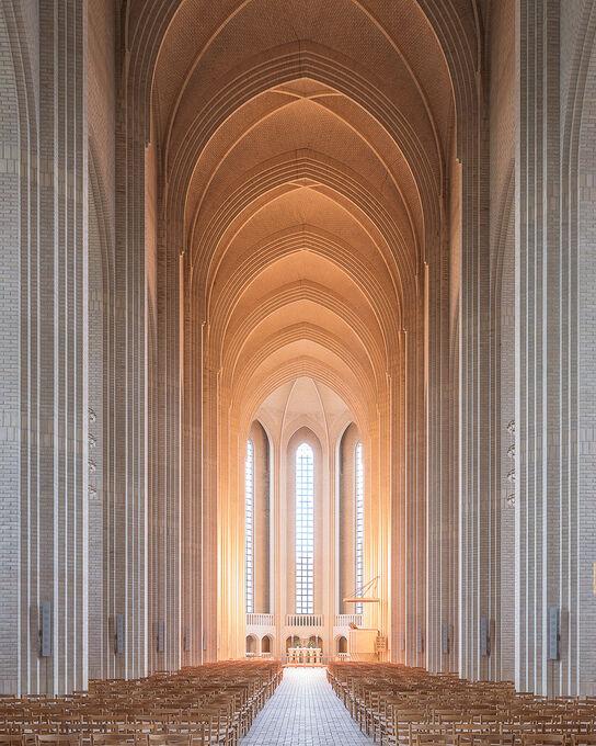 Photo COPENHAGEN CHURCH - Ludwig Favre