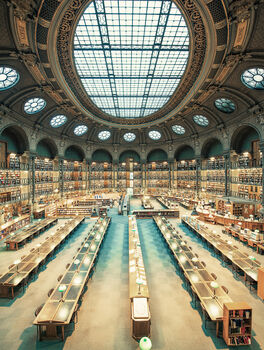 Photo Bibliothèque Nationale de France II - Franck Bohbot