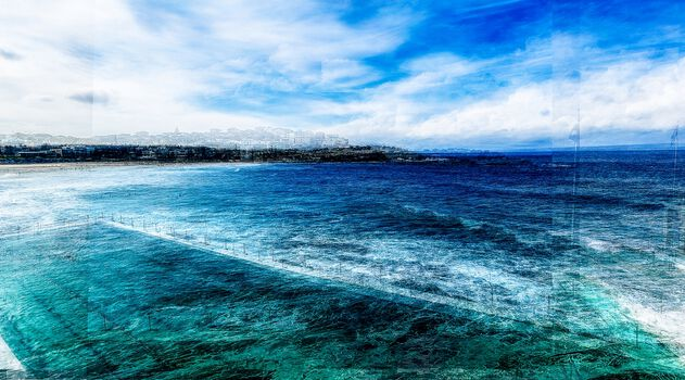 Photo Sydney Bondi Beach II - Laurent Dequick