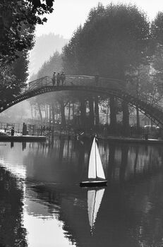Photo Canal Saint-Martin 1982 - Peter Turnley