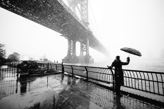 Photo New York Snow Storm - Guillaume Gaudet