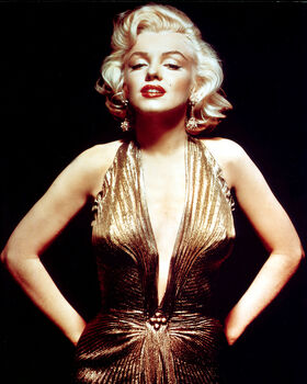 Photo GENTLEMEN PREFER BLONDES, MARYLIN MONROE - GAMMA AGENCY