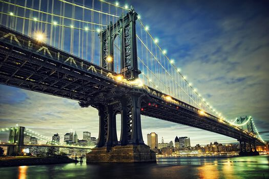 Photo Manhattan Bridge - Serge Ramelli