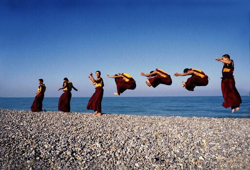 Photo Les moines volants - Matthieu Ricard
