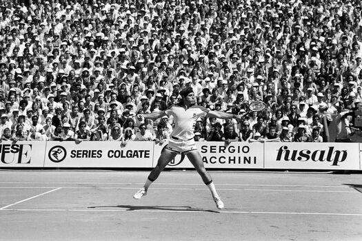 Photo Roland Garros 1978 Guillermo Vilas - SPORTS PRESSE