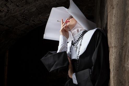 SMOKE BREAK CINECITTA