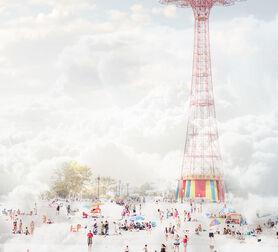 Photo Brooklyn eiffel tower - Mina Teslaru