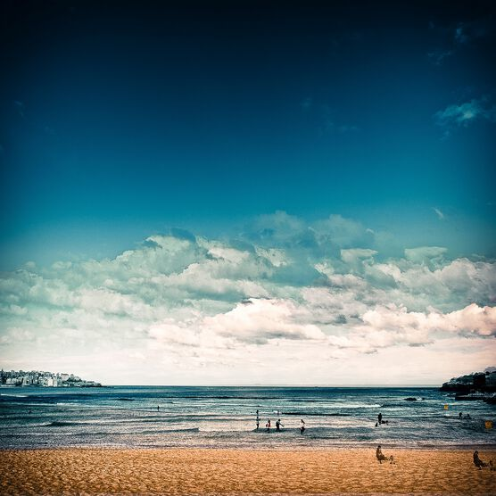 Photo Late Afternoon at Bondi Beach - Laurent Dequick