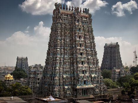 Photo Madurai - Sri Minakshi Sundareshwara Tempel - Wolfgang Weinhardt