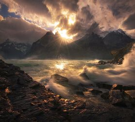 Photo Boom Torres del Paine Chile - Marc Adamus