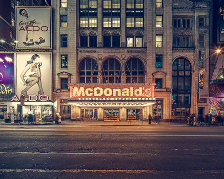 Photo The McDonald's times square NY - Franck Bohbot
