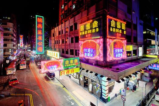 Photo Tung Choi Street II - Jörg Dickmann