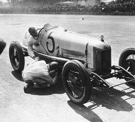 Photo Grand Prix automobile d'Europe - Albert Harlingue