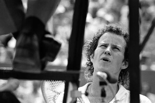 Photo Roland Garros 1981 John mc Enroe - SPORTS PRESSE