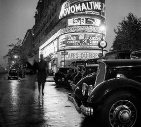 Photo NÉONS RICHELIEU DROUOT - Roger Schall