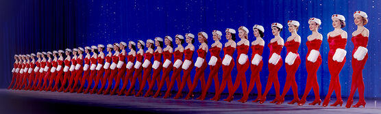 Photo THE ROCKETTES 1958 -