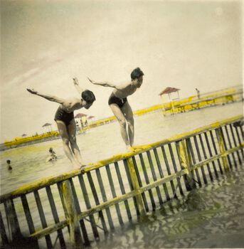 Photo Les plongeurs - PHOTOGRAPHE ANONYME