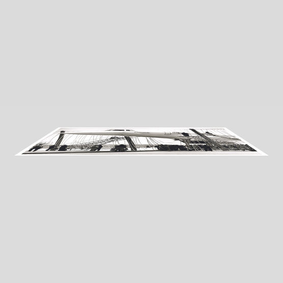 Photo Concorde dans son filet #2 - Jean Dieuzaide