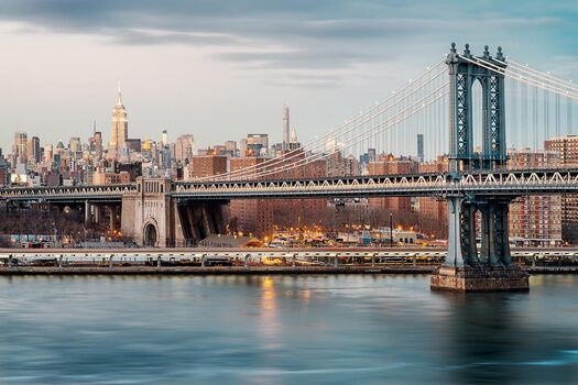 Photo Manhattan Bridge Skyline - Jörg Dickmann