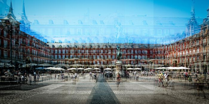 Photo Madrid Plaza Mayor B - Laurent Dequick