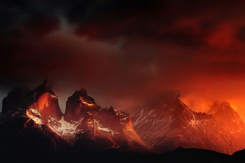 Massif Torres del Paine Chili