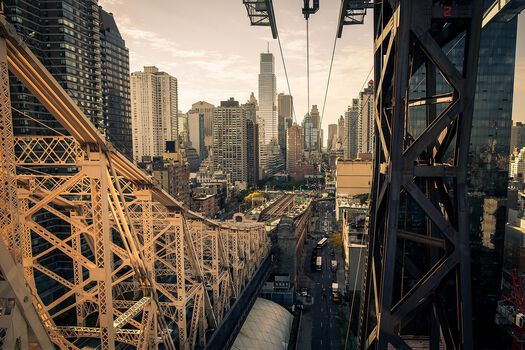 Photo Roosevelt Island Bridge - Ludwig Favre
