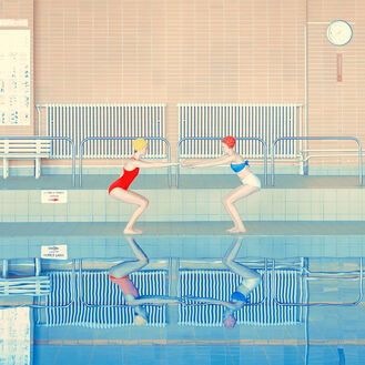 TWO SWIMMERS