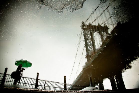Photo The Photographer and the Bridge - Guillaume Gaudet