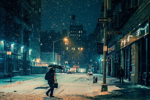 Photo Black night II - Franck Bohbot