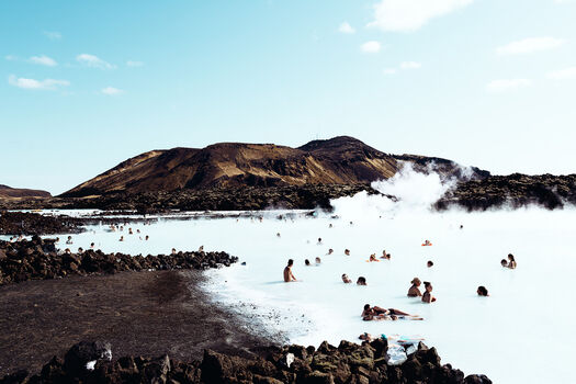 Photo Blue Lagoon - Ludwig Favre