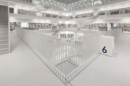 Bibliothek Stuttgart Floor 6