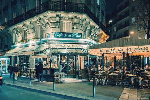 Photo Le café de la place Montparnasse - Jack and Luna