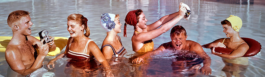 POOL PARTY 1958