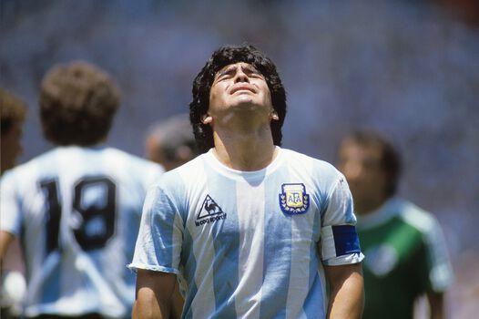 Photo Maradona, Mexico 1986 - SPORTS PRESSE