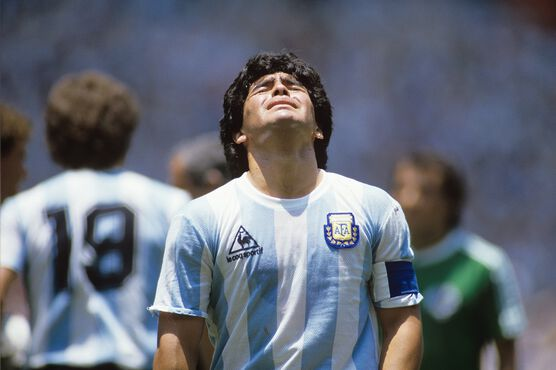 Photo Maradona, Mexico 1986 - SPORTS PRESSE