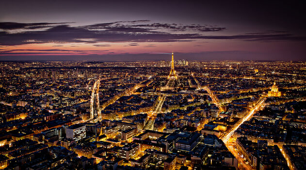 Photo Paris vu du ciel - Serge Ramelli