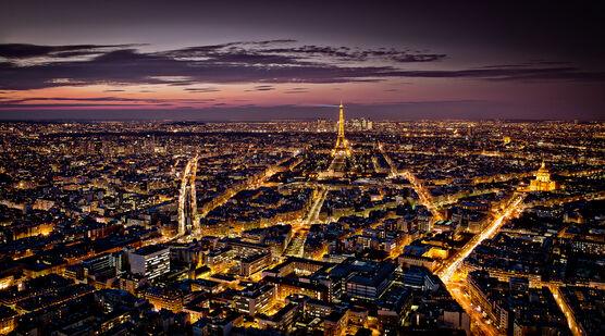 Photo Paris vu du ciel - Serge Ramelli