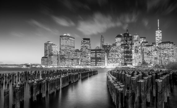 Photo Manhattan by Night - Serge Ramelli