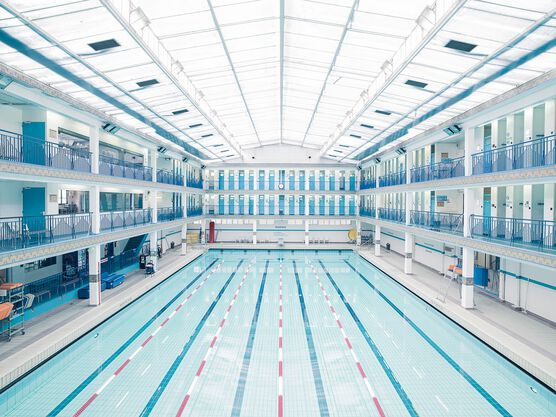 Photo Piscine Pontoise Paris 2014 - Franck Bohbot