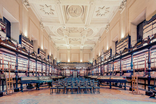 Photo THE BIBLIOTECA VALLICELLIANA ROMA - Franck Bohbot