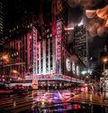 Photo NYC Radio City Sign Manhattan - Bernhard Hartmann