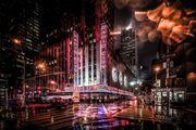 NYC Radio City Sign Manhattan