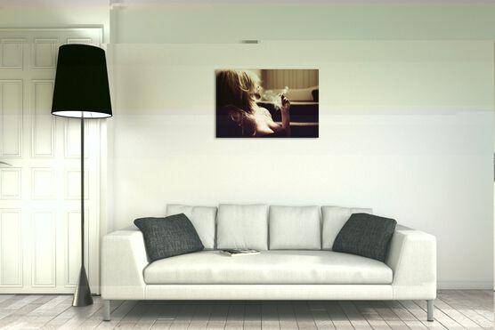 Photo Smoking Blonde - Ben Moore